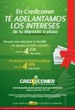 CREDICOMER promocion en depositos a plazos - 03dic13