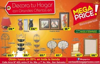 Decora tu hogar en navidad MEGA PRICE ofertas - 23dic13