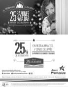 Descuentos en Restaurantes y Supermercados BANCO PROMERICA - 24dic13