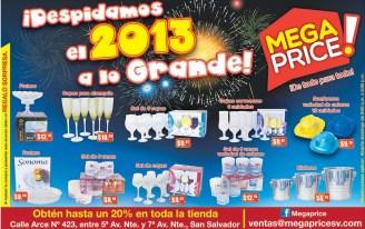 Despidamos el 2013 con grandes ofertas MEGA PRICE - 27dic13