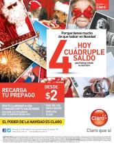 El Poder de la navidad es CLARO recargas - 17dic13