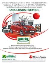 Envio y Recibo de dinero MONEY GRAM promotion - 17dic13