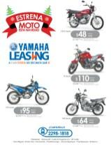 Estrena MOTO en NAVIDAD con YAMAHA Leasing