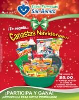 Farmacias San Benito te regala CANASTAS Navideñas - 10dic13