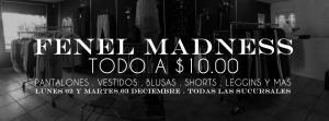 Fenel Madness promotins 02 y 03 de Dic 2013