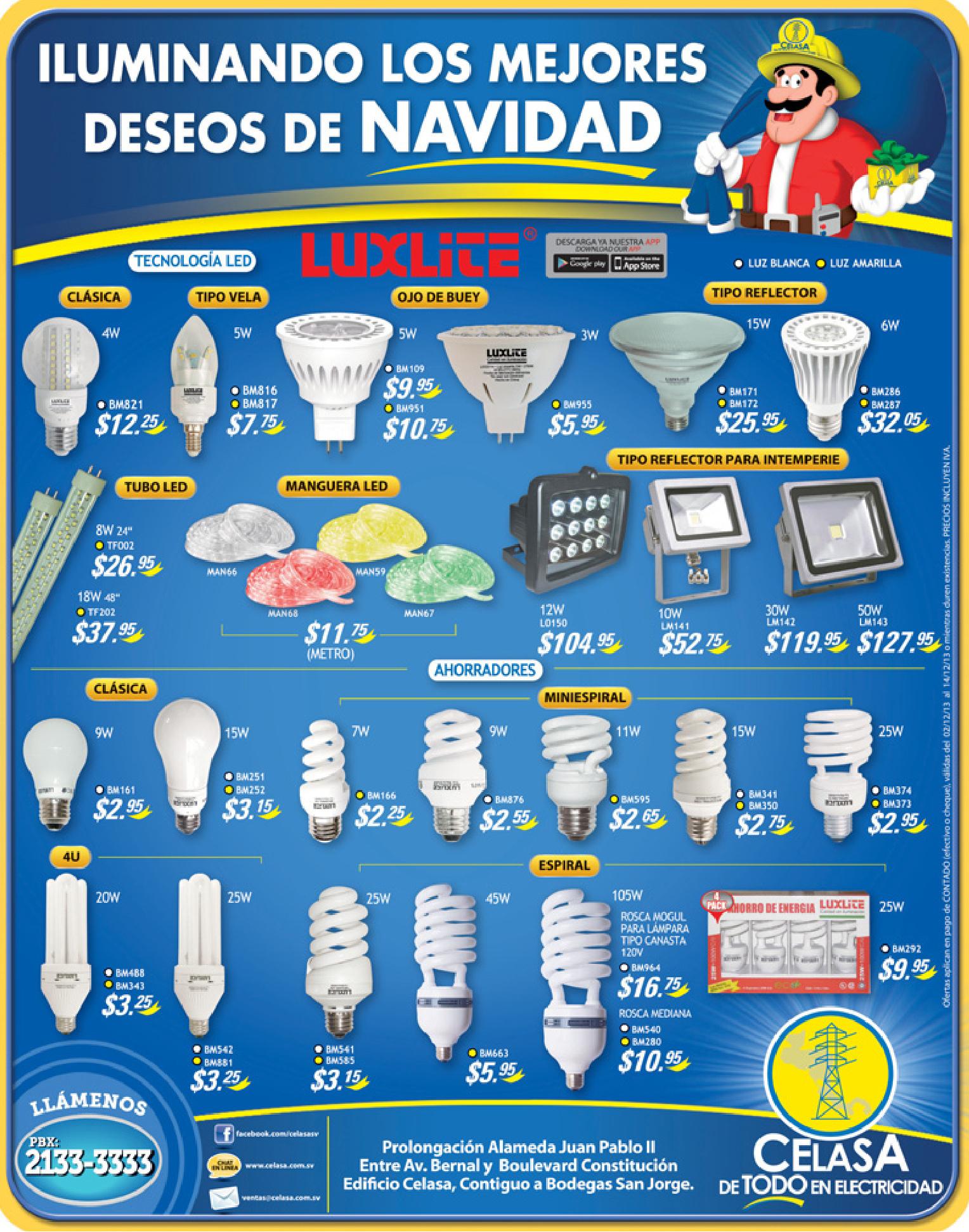 Ferreteria CELASA descuentos electricos - 02dic13