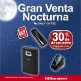 Gran venta noctura office depot Accesorios Klip