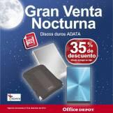 Gran venta noctura office depot Discos Duros