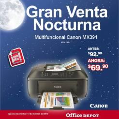 Gran venta noctura office depot Multifuncional Canon