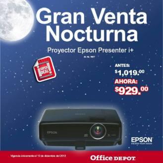 Gran venta noctura office depot Proyecto EPSON