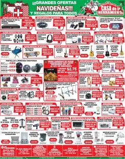 Grandes ofertas navideñas CASA de la Herramienta - 16dic13