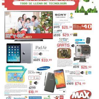 Guia de Ofertas Navideñas Tiendas MAX - page 1