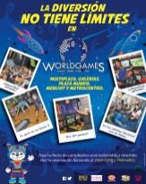 Haz tu fiesta en WORLD GAMES el salvador - 13dic13