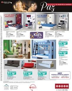 KIDS rooms decoration promociones SIMAN - 17dic13