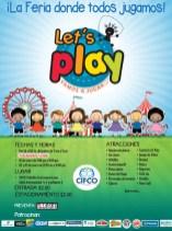 Lets PLAY vamos a jugar FERIA CIFCO - 03dic13