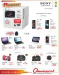 MOviles Laptop Camaras SONY promociones OMNISPORT - 19dic13