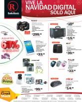 Navidad Digital juguetes camaras tablets RadioShack el salvador - 18dic13