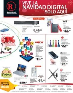 Nintendo WII mini promotion RadioShack descuentos - 23dic13