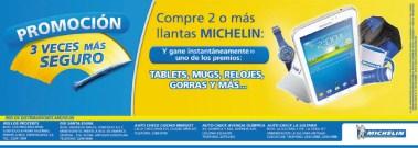 Promocion navideñas MICHELIN el salvador - 16dic13