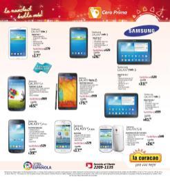 Promociones Navideñas 2013 La Curacao el salvador Tablet Moviles - page 21