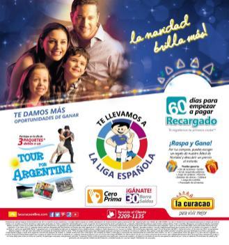Promociones Navideñas 2013 La Curacao el salvador - page 1