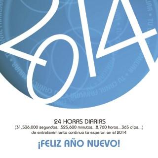 Radio VOX feliz año nuevo 2014