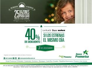 Recibamos la navidad con promociones Banco Promerica - 03dic13