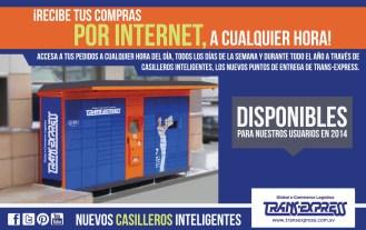 Recibir tus compras por INTERNET via Trans Express
