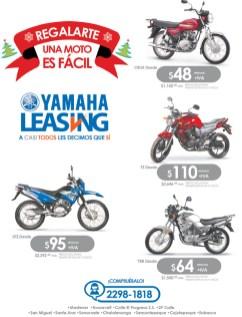 Regalo de navidad una MOTO Yamaha Leasing - 16dic13