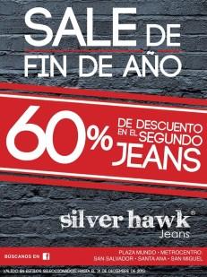 SALE fin de año JEANS silver hawk - 27dic13
