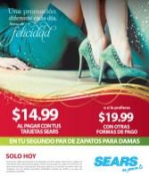 SEARS promocion de hoy ZAPATOS para damas - 06dic13