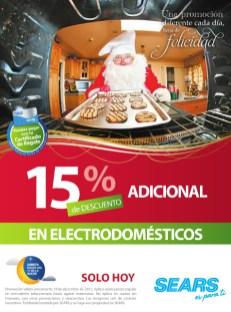 SEARS promocion de hoy electrodomesticos - 19dic13