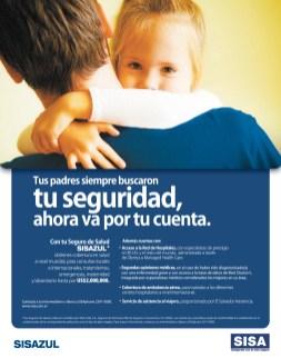 Seguros medicos internacionales SISA sisaazul