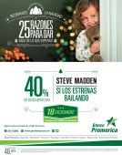 Tarjetas Banco Promerica descuento STEVE MADEN shoes - 18dic13