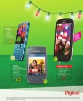 Telefonos DIGICEL con ANDROID ofertas - 19dic13
