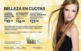 Tratamientos de belleza promociones VIDALS el salvador - 09dic13