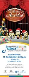 Un concierto de navidad Orquesta Sinfonica de El Salvador