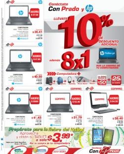 Almacenes PRADO el salvador ofertas laptops tablets - 24ene14