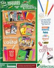 Articulos escolares al COSTO Super Selectos el salvador - 31ene14