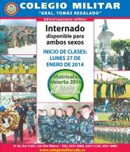Colegio Militar el salvador matricula 2014