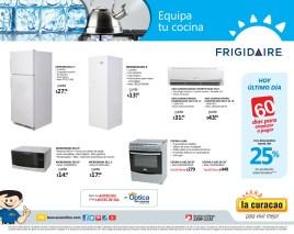 Equipa tu cocina FRIGIDAIRE La Curacao el salvador promociones - 31ene14