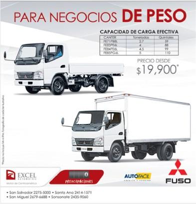 Excel Automotriz Trucks Mitsubishi FUSO - 29ene14