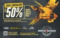 Moto Action Sports gran liquidacion accesorios y equipo - 17ene14