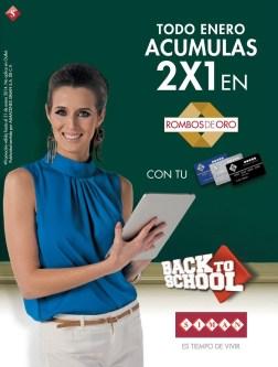 Promocion CREDISIMAN back to school acumulas 2x1