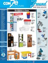 Promociones FREUND libreras closet armarios