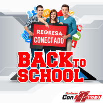 Regresa conectado LAPTOPS TABLET Prado back to school