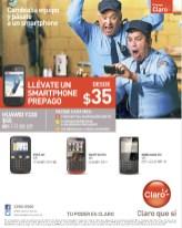 Smartphone prepago CLARO promociones - 06ene14