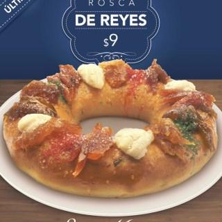 Ultimo dia Rosca de Reyes panaderia SAN MARTIN - 06ene14