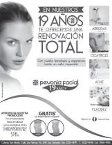 elimina arrugas cicatrices acne flacidez PEVONIA FACIAL promociones - 09ene14