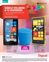 nokia lumia Windows Phone DIGICEL promociones - 08ene14